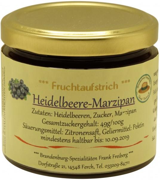 Fercher Fruchtaufstrich Heidelbeere-Marzipan, Glas 155 g