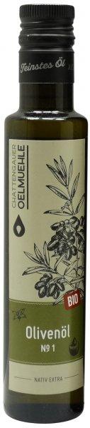 Italienisches Bio Olivenöl No. 1 -Apulien-, Flasche 250 ml