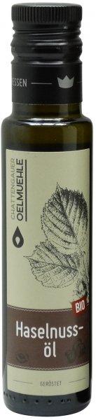 Chattengauer Bio Haselnussöl, geröstet, Flasche 100 ml