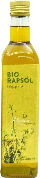 Allgäuer Ölmühle Allgäuer Bio Rapsöl - 500 ml 0104