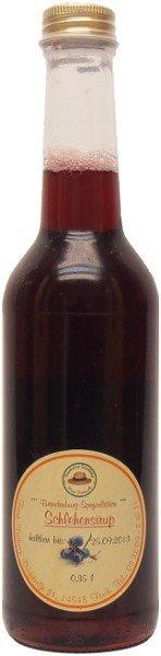 Fercher Schlehen-Sirup, Flasche: 350 ml