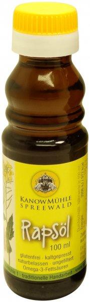 Spreewälder Rapsöl, Premiumqualität, Flasche: 100 ml