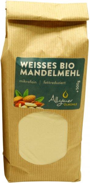 Allgäuer Bio Mandelmehl, weiss, Packung: 250 g
