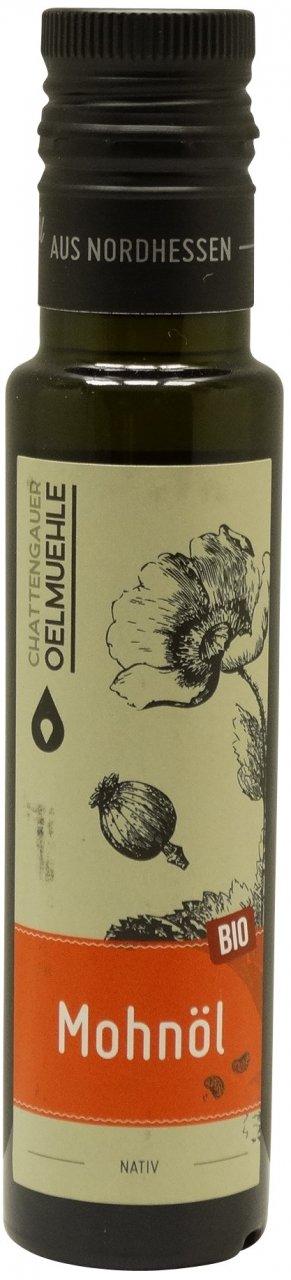 Chattengauer Ölmühle Chattengauer Bio Mohnöl nativ - 100 ml