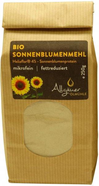 Allgäuer Bio Sonnenblumenmehl, Packung: 250 g