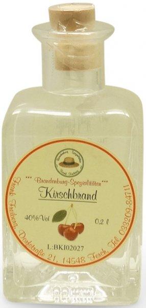 Fercher Kirschbrand, Flasche 200 ml
