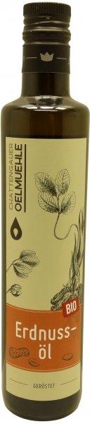 Chattengauer Bio Erdnussöl, geröstet, Flasche: 500 ml