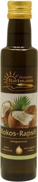 Schwäbisches Kokos-Rapsöl, Flasche 250 ml