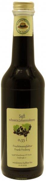 Fercher Schwarzer Johannisbeer-Fruchtsaft, Flasche 350 ml