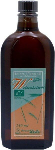 Badisches Bio Weizenkeimöl, Flasche 250 ml