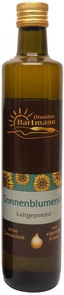 Schwäbisches Sonnenblumenöl, Flasche 500 ml