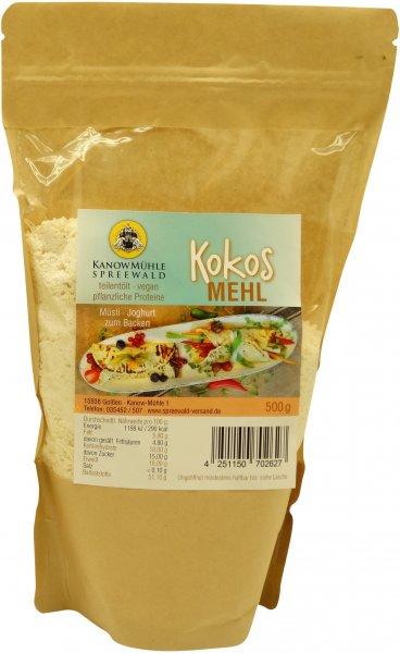 Spreewälder Kokos-Mehl, Packung 500 g