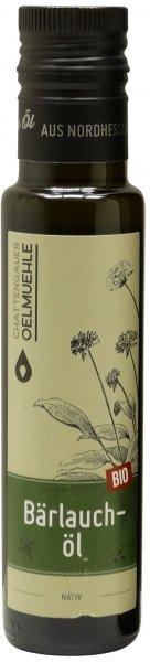 Chattengauer Bio Bärlauchöl nativ, Flasche 100 ml