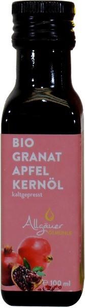 Allgäuer Bio Granatapfelkernöl, Flasche 100 ml