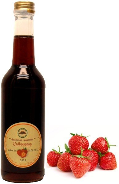 Fercher Erdbeer-Sirup, 350 ml