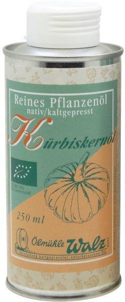 Badisches Bio Kürbiskernöl, Dose 250 ml