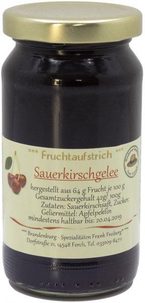 Fercher Sauerkirschgelee, Glas 230 g