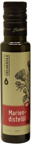Chattengauer Bio Mariendistelöl nativ, Flasche 100 ml