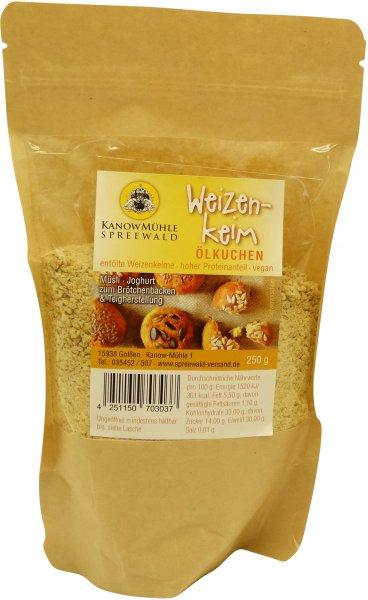 Spreewälder Weizenkeim-Mehl, Packung 250 g