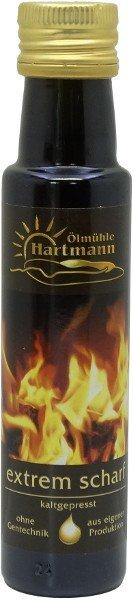 """Schwäbisches """"Extrem Scharf""""-Öl, Flasche 100 ml"""
