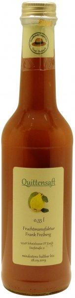 Fercher Quitten-Fruchtsaft, Flasche 350 ml