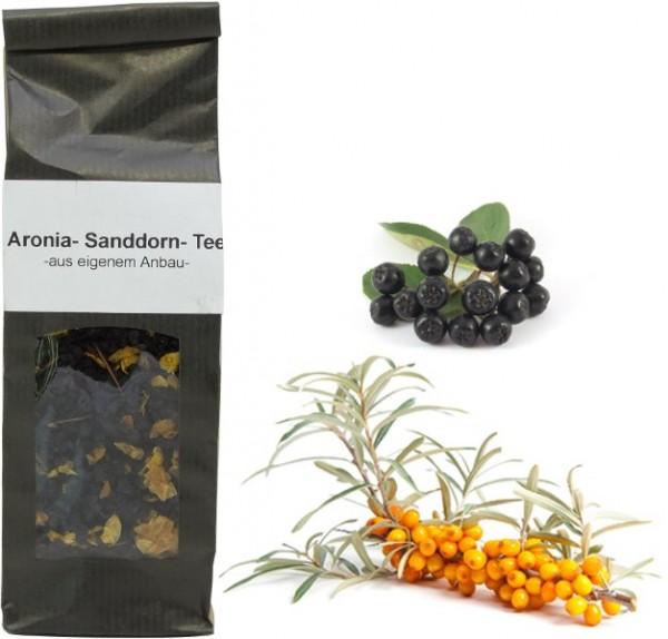 Fläminger Aronia-Sanddorn Tee, Beutel 100 g