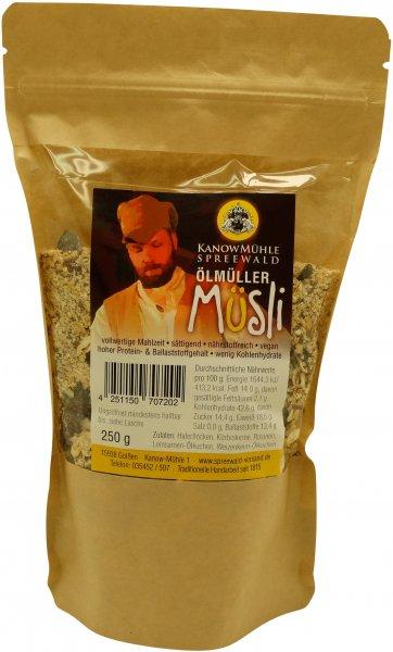 Ölmüller-Müsli-Mix, Packung 250 g