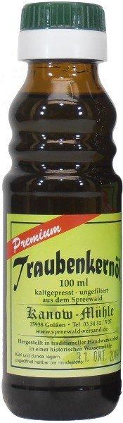 Spreewälder Traubenkernöl, Premiumqualität, 100 ml