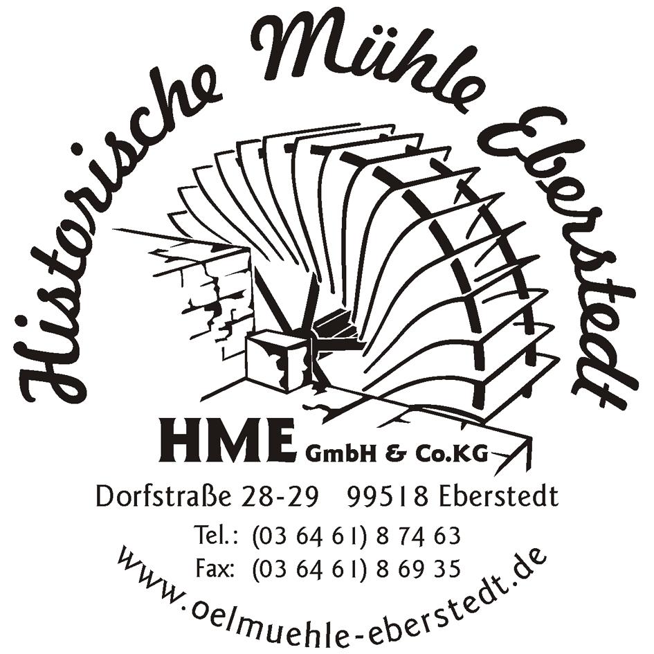 Logo der Historischen Ölmühle Eberstedt